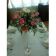 Живые цветы на мартинице фото