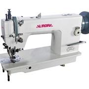 Швейная машина с двойным продвижением и обрезкой  фото