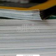 Печать журналов на бумаге с полупокрытием фото