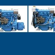 Судовой двигатель TDME-2M78, 14 л.с. с редуктором фото