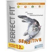 Корм для кошек PERFECT FIT Sensitive, 1,2кг фото