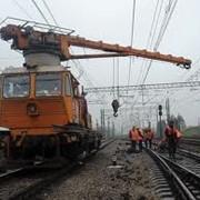Ремонт и обслуживание железнодорожных путей фото