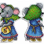 Набор для вышивания Мышка-норушка фото
