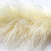 Боа пух-перо D 10 Белый фото