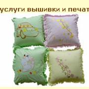 Услуги трафаретной печати, набивки на текстильных изделиях. Печать на текстиле. фото