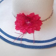 Летняя широкополая шляпа1 фото