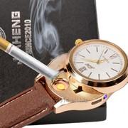 Кварцевые, мужские часы, зажигалка - стильный подарок фото