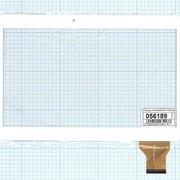 Сенсорное стекло (тачскрин) VTC5010A28-FPC-1.0 белое фото