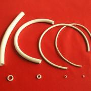 Трубки из силиконовой резины белые фото