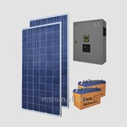 Автономная солнечная энергосистема Санфорс 600 (уст.P=600Вт, ном.P=1500Вт, 140Ач) фото
