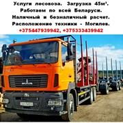 Услуги лесовоза-сортиментовоза. фото