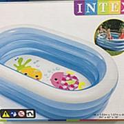 Надувной бассейн Intex 163 фото