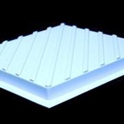 Формы для производства тактильной плитки с диагональными рифами фото
