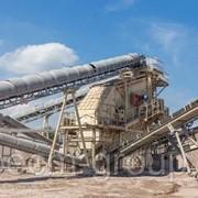 Дробильно-сортировочный комплекс производительностью 100 т/ч фото