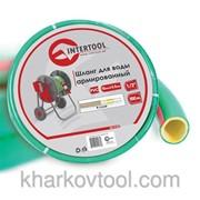 Шланг для воды 4-х слойный 1/2, 100м, армированный, PVC Intertool GE-4107 фото