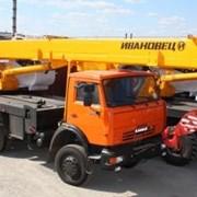 Liebherr LTM-1100-5.1 100Т в аренду фото