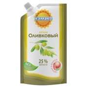 Майонезный соус Оливковый легкий, жирность 25% фото