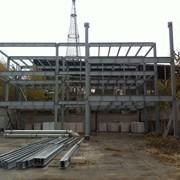 Монтаж, строительство металлоконструкций фото