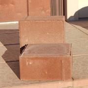 Плитка тротуарная квадратная К16.16.6 красная фото