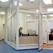 Перегородки офисные алюминиевые фото