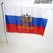 Флаг РОССИЯ 30x20x40см фото