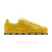 Кроссовки Adidas Superstar x Pharrell Williams Bright Yellow арт. 23180 фото