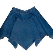 Юбка из облегченной джинсы. Артикул: Ю-3. фото