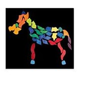 Grimms Мозаика магнитная «Бабочка» арт. RN17870 фото