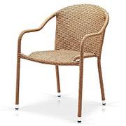 Плетеное кресло AFM-318B-Beige фото