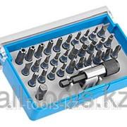 Набор Зубр Бита Эксперт из хромомолибденовой стали, 31 бита - 25мм, адаптер, 32 предмета Код: 26091-H32 фото