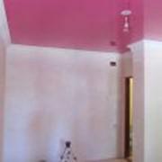 Монтаж полупрозрачных натяжных потолков фото