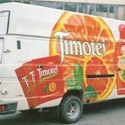Размещение рекламы на внешних носителях, на транспорте. фото