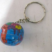 Брелок Глобус KL-744 2,5см фото