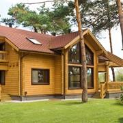 Проект дома из дерева Д0077 фото