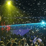 Музыкальный фонтан, генератор огня, дыма, пузырей и пр., водный экран, конфетти и др. фото