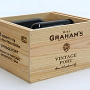 Ящик для вина на 10 бутылок без фурнитуры фото
