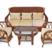 Комплект плетеной мебели Андреа фото
