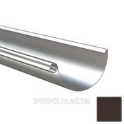 Желоб полукруглый Lindab R 150/100 434 коричневый фото