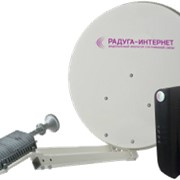 Комплект для двустороннего спутникового интернета КаСат фото