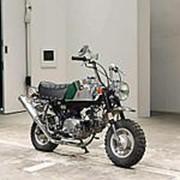 Мопед мокик Honda Monkey Gorilla рама AB27 гв 2000 тюнинг пробег 2 т.км платиновый фото