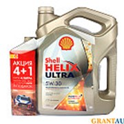 Масло моторное SHELL HELIX ULTRA 5W30 4л+1л фото