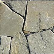 Камень плоский природный (песчаник), толщ.2,0 - 2,5 см. Производственная База Природного камня, Луганск Прямые поставки из карьера по Украине фото