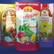 Изготовление упаковки для молочных продуктов; для масложировой продукции; Пакеты Дой-Пак; Барьерная упаковка фото
