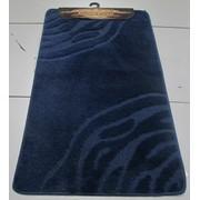 Набор ковриков для ванной комнаты и туалета Classic Smart; код Темно-синий фото