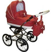 Коляска Maxima Glory Nubuk 4 3в1 Stroller B&E фото