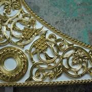 Декорирование сусальным золотом фото