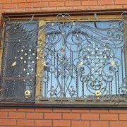 Металлические кованые решетки на окна купить на заказ Одесса фото
