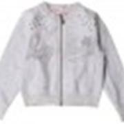 Одежда серо-голубоемеланж к107 куртка 300093 фото