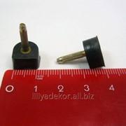 Набойки полиуретановые со штырем ARCHITAK №2 черные фото