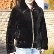Мужская куртка из меха бобра фото